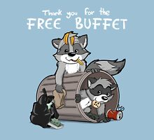 Raccoons grateful Unisex T-Shirt