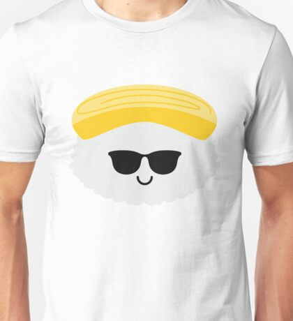 Egg Sushi Emoji Cool Sunglasses Unisex T-Shirt