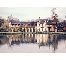 Versailles - The Hamlet of Marie Antoinette Photographic Print