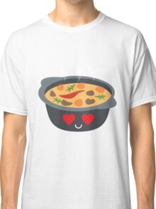 Hotpot Emoji Heart and Love Eye Classic T-Shirt