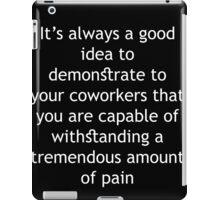 Tremendous Amount of Pain iPad Case/Skin