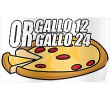 Gallo 12 or Gallo 24? Poster