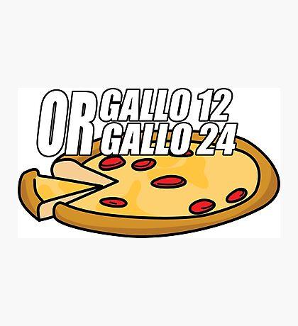 Gallo 12 or Gallo 24? Photographic Print