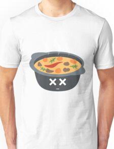 Hotpot Emoji Faint and Knock Out Unisex T-Shirt