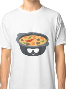 Hotpot Emoji Cool Sunglasses Classic T-Shirt