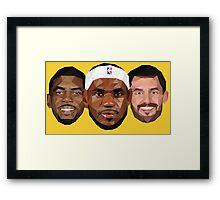 3 Best friends Framed Print