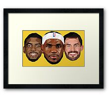 3 Best friends Framed Print