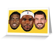 3 Best friends Greeting Card