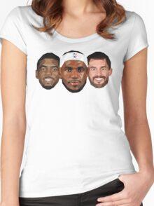 3 Best friends Women's Fitted Scoop T-Shirt
