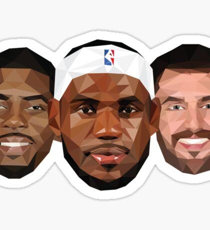 3 Best friends Sticker