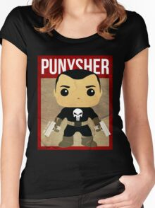 THIS IS WAR - PUNYSHER VINTAGE Women's Fitted Scoop T-Shirt