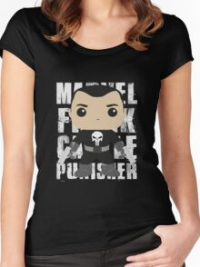 THIS IS WAR - PUNYSHER 3 Women's Fitted Scoop T-Shirt