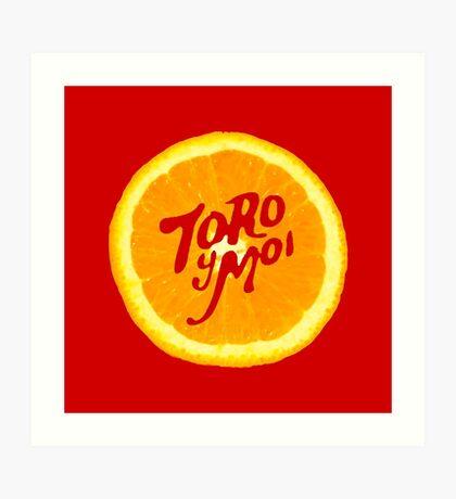 Toro y Moi Art Print