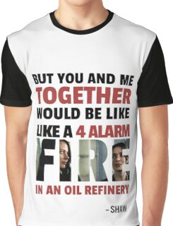 Root & Shaw - 4ALARM Graphic T-Shirt