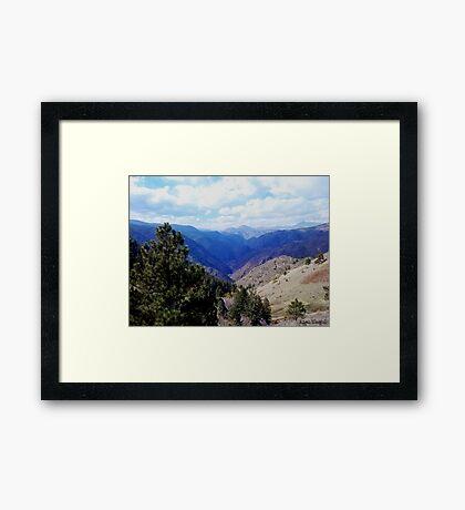 Lookout Mountain Golden Colorado Framed Print