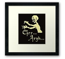 vampire slayer Framed Print