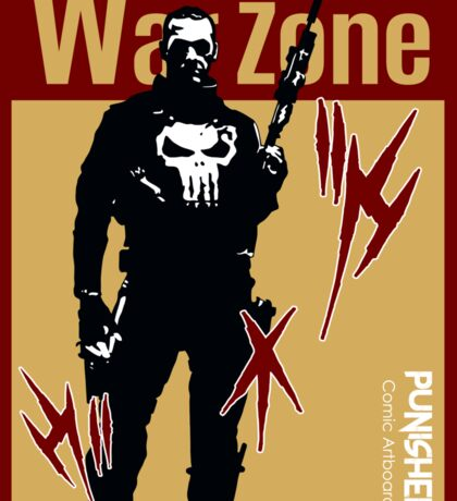THIS IS WAR - PUNISHER 4 Sticker