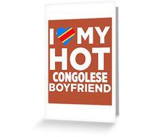 I Love My Congolese Boyfriend Greeting Card