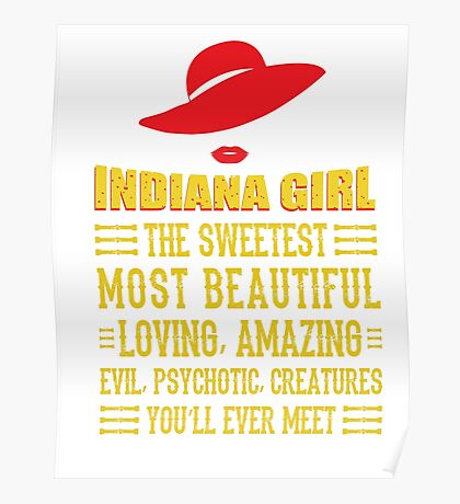 Indiana Girl Poster