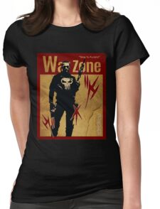THIS IS WAR - PUNISHER 4 VINTAGE Womens Fitted T-Shirt