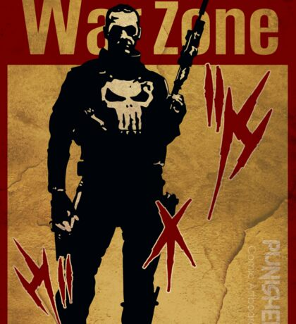 THIS IS WAR - PUNISHER 4 VINTAGE Sticker