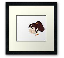 Her My OH Nee Framed Print