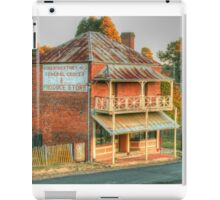 Northeys of Hill End iPad Case/Skin