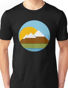 Simple Mountain View Unisex T-Shirt