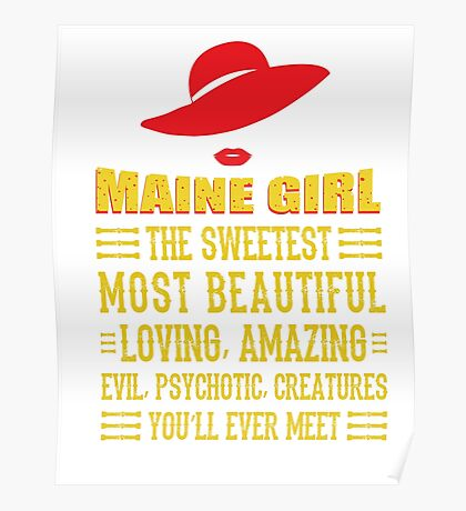Maine Girl Poster