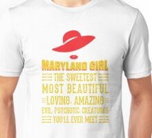 Maryland Girl Unisex T-Shirt