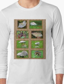Mushrooms Long Sleeve T-Shirt