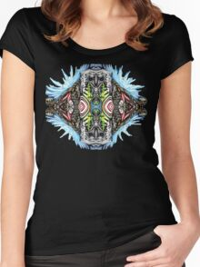 Bio Mech Animal Energy Explosion Women's Fitted Scoop T-Shirt