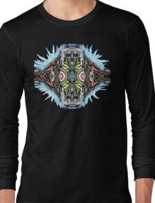 Bio Mech Animal Energy Explosion Long Sleeve T-Shirt