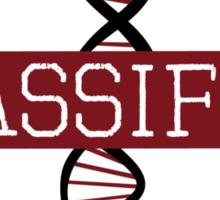 Classified DYAD Institute - Orphan Black Sticker