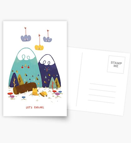 Let's Explore Greeting Card