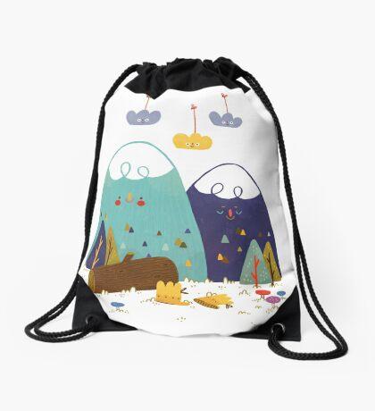 Let's Explore Drawstring Bag