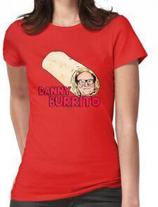 Danny Burrito (dorito) - Funny Devito parody Womens Fitted T-Shirt