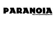 PARANOIA Magazine Logo by TeslaWolfMedia