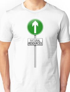 Natural resources concept. Unisex T-Shirt