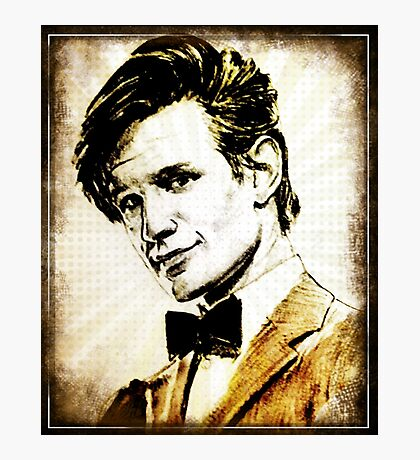 Matt Smith Dr Who Photographic Print