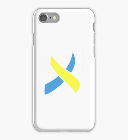 Down Syndrome Librarian- librarian shirt iPhone Case/Skin