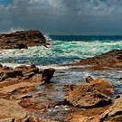 1186 Dramatic Coast by DavidsArt