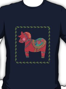 The Red Dala Horse T-Shirt