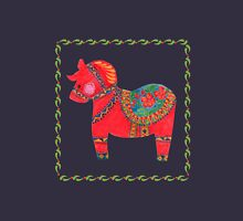 The Red Dala Horse Unisex T-Shirt