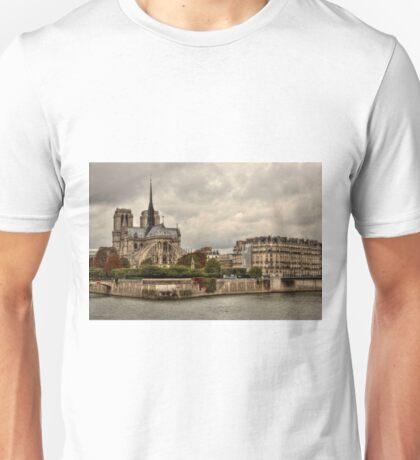 Facing Notre-Dame From Pont De La Tournelle - 1 ©  Unisex T-Shirt