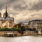 Facing Notre-Dame From Pont De La Tournelle - 2 ©  by © Hany G. Jadaa © Prince John Photography