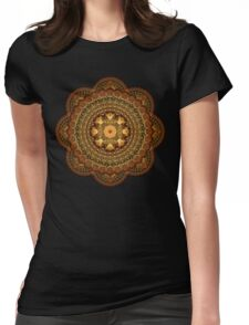 The Astologers Lab Mandala Womens Fitted T-Shirt