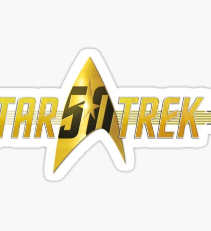 Star Trek 50th Anniversary Sticker