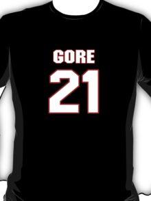NFL Player Frank Gore twentyone 21 T-Shirt