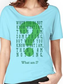 Riddle me this... (tall) Women's Relaxed Fit T-Shirt